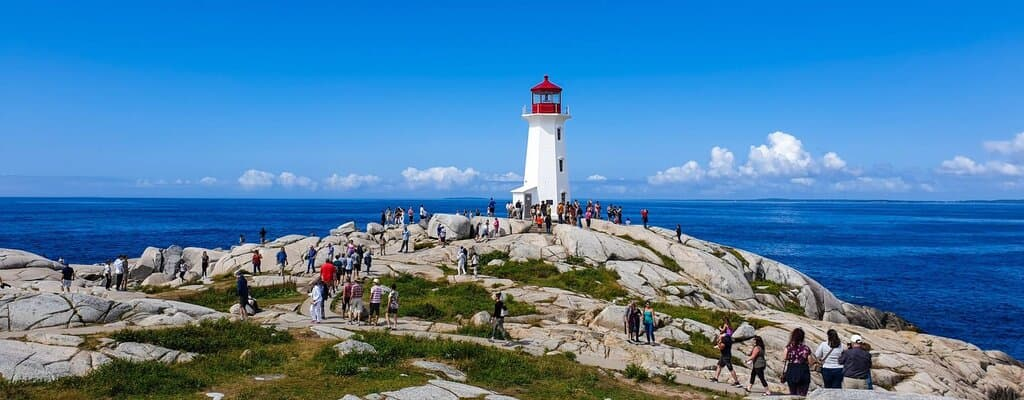 Nova Scotia Nominee Program - Peggy's Cove Lighthouse, Nova Scotia, Canada